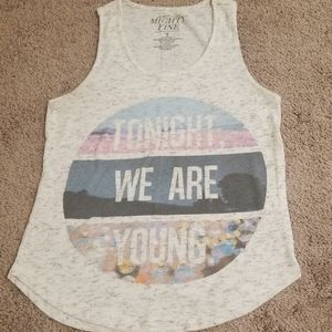 Tank Top with Fun Saying